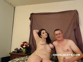Lustful Chubby Harlot Is Being Very Naughty Only