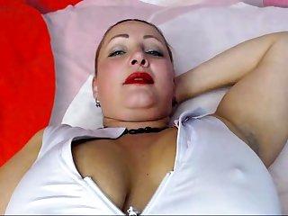 Slutty Milf Solo Scolding To Orgasm