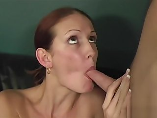 Young slut rides her doctor is thick dick