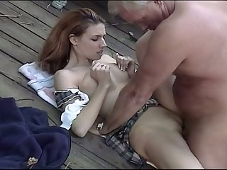 This sweet redhead loves older men and missionary is say no to favorite bend