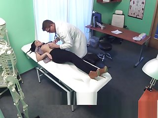 Action Hospital Hot Tattoo Patient cured with lasting cock
