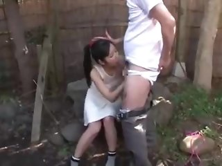 Petite japanese brunette is deepthroating the brush neighbor's manmeat while others are waiting for blowjobs best porn
