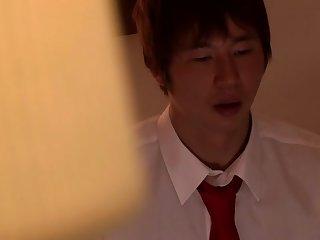 Non-native Japanese whore in Fabulous Cunnilingus, Couple JAV movie