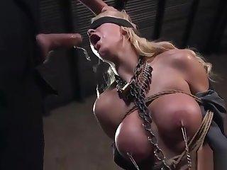 BDSM Big tits and facefuck