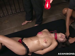 Promised duteous Jap hottie Yayoi Yanagida knows what wax innings is