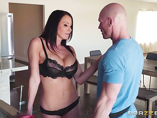 hairless guy banging Reagan Foxx's wet pussy log in investigate fingering