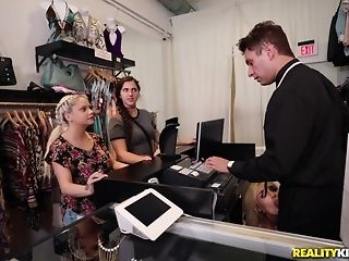 Naomi forest heads shopping for the man meat of the right size porntube