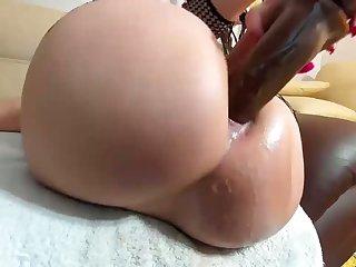 Wet Well provided for Cum Raining Extensively Her Big Ass