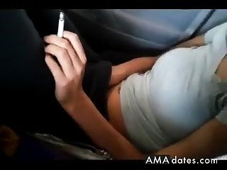 Masturbating in Parked Car