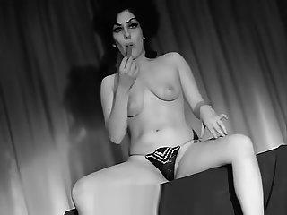 Hot Faggot Girls Practicing Burlesque