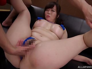 Nobs hard sex be required of a busty Japanese mom