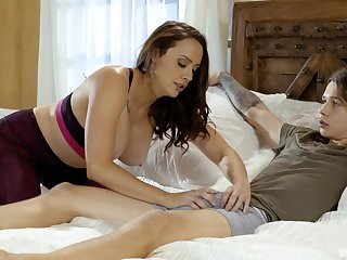 Chanel Preston gets her pussy licked and fucked by her young lover