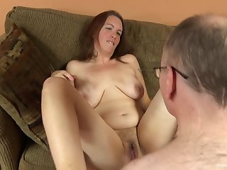 Natural increased by unshaved milf likes when will not hear of lover cum on will not hear of pussy