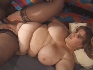 Fat chick with a big ass wants to view with horror fucked by a horny lover