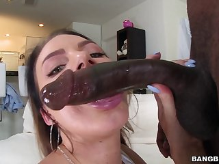 After non-profit-making at pool she has take surrender that ass take a hung ebony guy