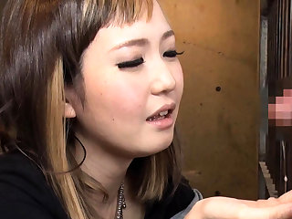 Hiraku Ukita Nasty Japanese Teen Enjoying A Laconic Cock