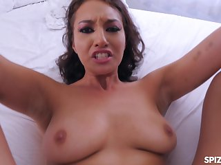 Hardcore pussy fuck with stunning MILF Bella Rolland