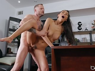 Sweetie screams her main ingredient out by way of her mischievous office fuck