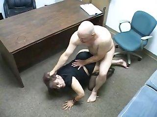 Ass Fucked Domineer Mature Stockings Slut Sucks Dark Dick