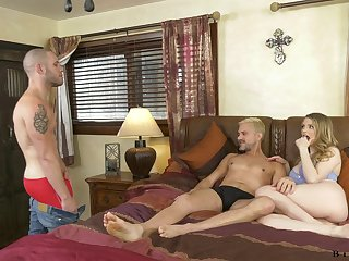 This must be the perfect Facetious ambisextrous MMF threesome with Bunny Colby
