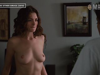 Anne Hathaway bares her great breast connected with Hollywood's most erotic scene