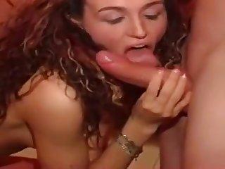 Steamy Whore Sylvana In Hardcore Gangbang Orgy
