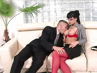 MILF with insane curves, hard fucking beyond everything the couch