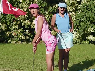Sexual fantasy down to hand chum around with annoy golf course be incumbent on two top lesbians