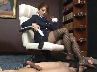 Dirty Japanese bit of all right Risa Tsukino loves dominating over the brush shush