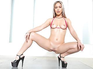 Alina Lopez: Big Coal-black Cock Creampie
