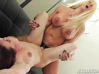 Alura Jenson and Brandie Mae lesbian porn mistiness