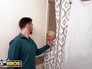 BANGBROS - Cuckold Day Luna Starlet Takes Ginormous Ebony Boner While BEAU Is Home