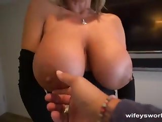 Her Boobs Juggle and She Guzzles In any case Droplet